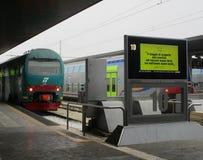 Estação de trem de Venezia Santa Lucia Foto de Stock