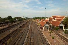 Estação de trem do rak de Chiang Imagens de Stock Royalty Free