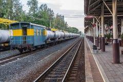 Estação de trem do trem de Khonkaen Foto de Stock