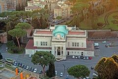 Estação de trem do Vaticano imagens de stock