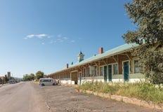 Estação de trem em Estcourt na província de Kwazulu Natal fotografia de stock