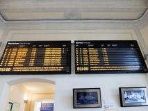 Estação de trem em Roma fotos de stock royalty free