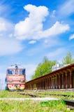 Estação de trem inoperante em Haapsalu, Estônia Imagens de Stock Royalty Free