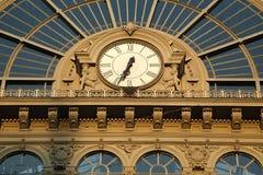 Estação de trem Keleti em Budapest fotos de stock