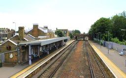 Estação de trem Kent England do negócio fotos de stock royalty free