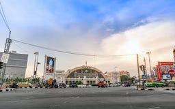 Estação de trem terminal de Banguecoque Grand Central no por do sol Imagens de Stock