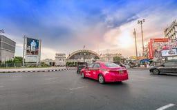 Estação de trem terminal de Banguecoque Grand Central no por do sol Foto de Stock