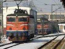 Estação de trilho 2 novos Imagem de Stock