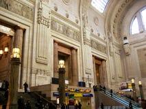 Estação de trilho de Milão foto de stock royalty free