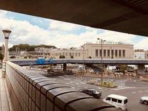 A estação de Ueno é ficada situada perto do centro do Tóquio de Japão fotos de stock