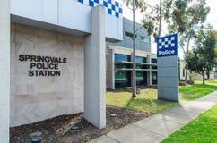 Estação de Victoria Police em Springvale, Melbourne Fotos de Stock