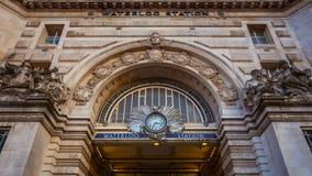 Esta??o de Waterloo em Londres, Reino Unido foto de stock royalty free