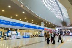 Estação do aeroporto de Kansai em Osaka foto de stock royalty free