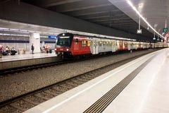 Estação do aeroporto de Viena Imagem de Stock