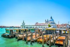 Estação do barco em Itália Veneza Fotografia de Stock