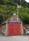 Estação do barco salva-vidas do Minehead Fotografia de Stock Royalty Free