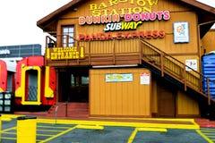 A estação do barstow em Route 66 Foto de Stock