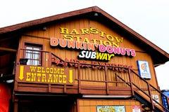 A estação do barstow em Route 66 Imagem de Stock