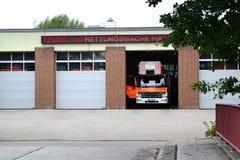 Estação do corpo dos bombeiros Imagem de Stock