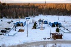 Estação do elevador de esqui Imagens de Stock Royalty Free