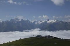 Estação do esqui Foto de Stock