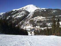 estação do esqui da Um-bacia Fotografia de Stock
