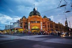 Estação do Flinders Fotografia de Stock Royalty Free