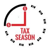 Estação do imposto ilustração stock