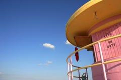 Estação do Lifeguard de Miami Imagens de Stock