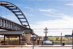 Estação do Lightrail Fotografia de Stock
