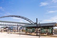 Estação do Lightrail Imagem de Stock Royalty Free