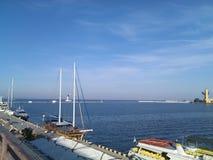 Estação do mar Fotos de Stock Royalty Free