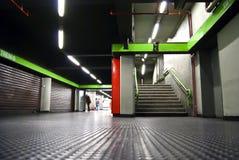 Estação do metro Imagens de Stock
