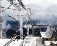 Estação do monte dos teleféricos Foto de Stock Royalty Free