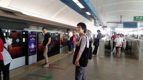 Estação do MRT em Singapura Imagens de Stock