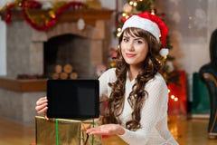 A estação do Natal faz-me feliz Imagem de Stock Royalty Free