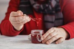 A estação do Natal pode inspirá-lo na cozinha e você pode querer Imagens de Stock