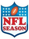 Estação do NFL ilustração stock