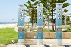 Estação do reenchimento da água fotografia de stock