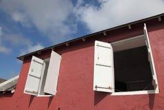 Estação do sinal do monte da arma, Barbados foto de stock royalty free
