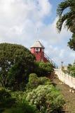 Estação do sinal do monte da arma, Barbados fotos de stock