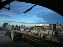 Estação do skytrain do BTS Fotos de Stock