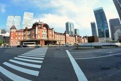 Estação do Tóquio, Japão Fotos de Stock Royalty Free