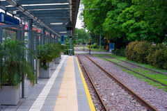 Estação do Tramway Imagem de Stock