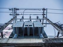 Estação elétrica Imagem de Stock