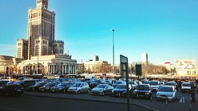 Estação em Varsóvia Fotografia de Stock Royalty Free