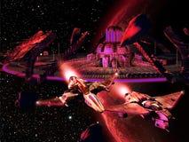 Estação espacial Imagens de Stock Royalty Free