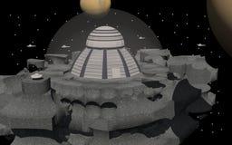 Estação espacial foto de stock royalty free