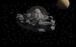 Estação espacial fotos de stock