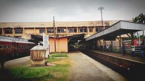 Estação ferroviária Imagem de Stock Royalty Free